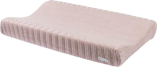 Meyco Silverline Relief Mixed aankleedkussenhoes - roze