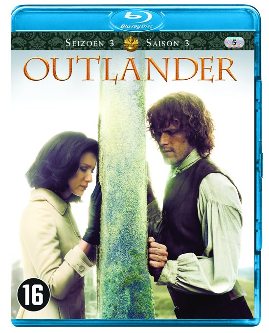 DVD cover van Outlander - Seizoen 3 (Blu-ray)