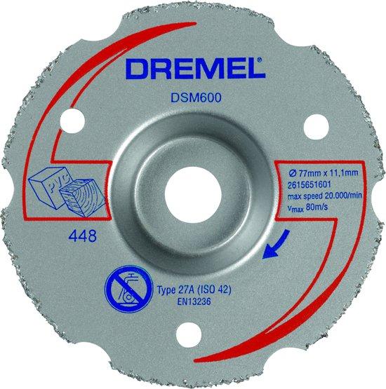 Dremel DSM20 multifunctionele carbide-verzinksnijschijf - DSM600