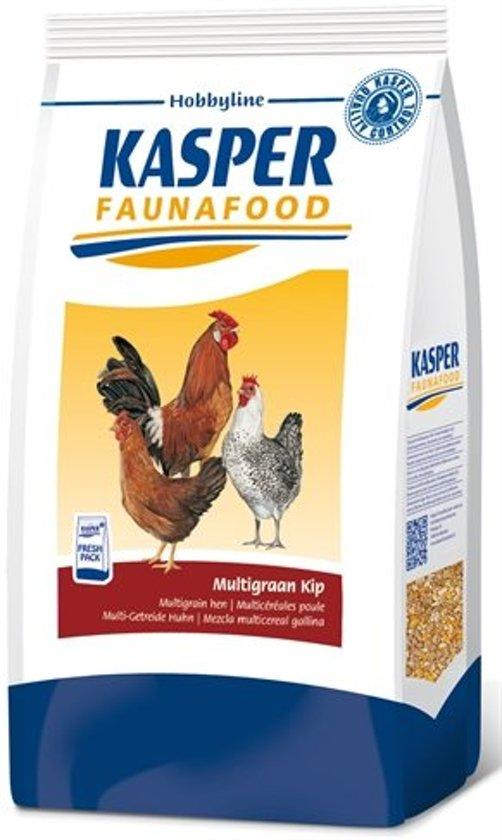 Kasper Faunafood Hobbyline Multigraan Kip - 4 KG