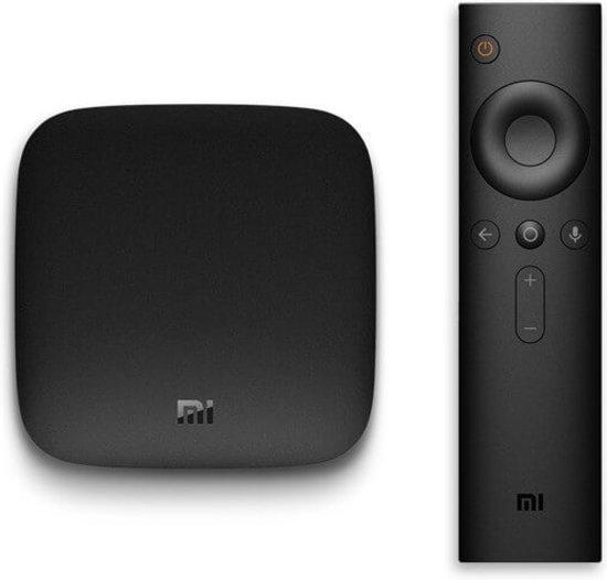Xiaomi Mi TV Box 3 4K 8 GB 2 GB RAM HDR Zwart