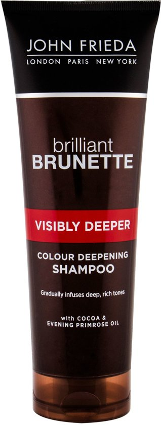 John Frieda Brilliant Brunette Visibly Deeper - 250 ml - Shampoo