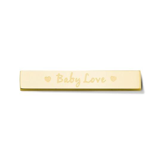 Take What You Need by Mi Moneda Baby Love Gold Bar TWYN-BAR-BAB-02