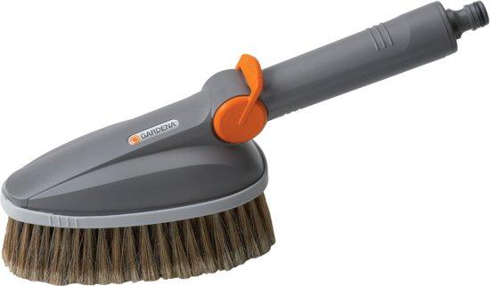GARDENA Cleansystem Handwasborstel - Reinigen tuinmeubels - garagedeuren - auto's