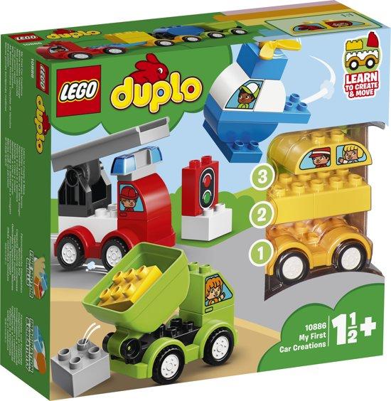 frisse stijlen meer foto's groothandel verkoop LEGO DUPLO Mijn Eerste Auto Creaties - 10886