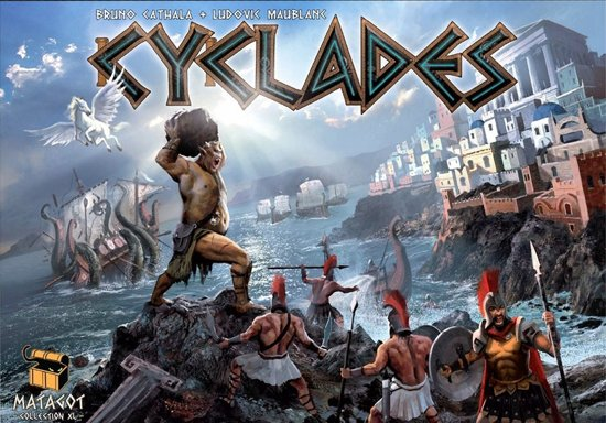 Cyclades - Bordspel