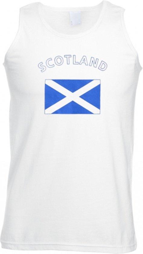 Scotland tanktop heren L