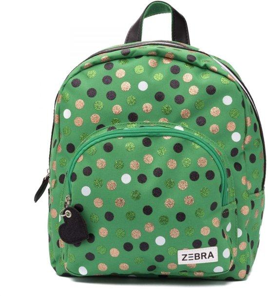 11925dbc016 bol.com | Zebra Trends Kinder Rugzak Wild Dots Glitter Green