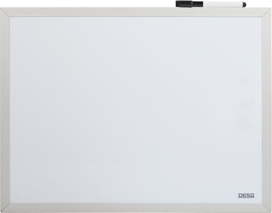Desq magnetisch whiteboard formaat 30 x 40 cm