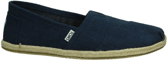 Chambray Chaussures Bleu Toms Pour Dames 3Yuw6yewO