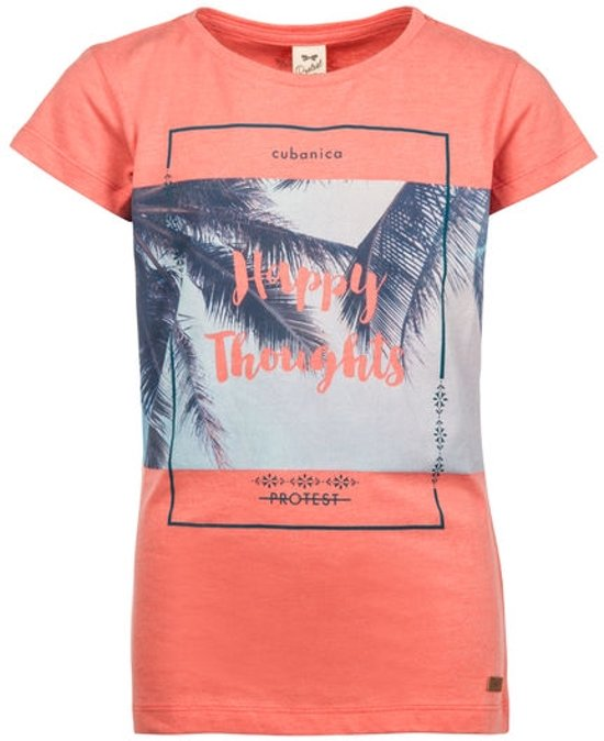 Protest T-shirt Meisjes CLARISA Coral Reef140