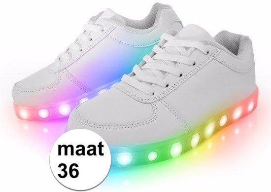 1bf72a3f43408d Lichtgevende disco schoenen   sneakers LED maat 36 - kinderen