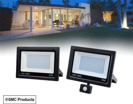 LED straler met sensor - met vermogen tot 100W - DD-34390
