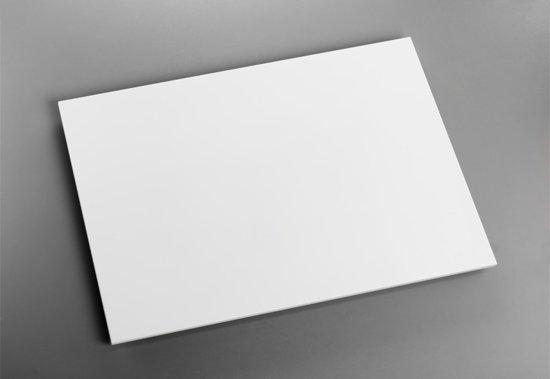 Witte Elbo-Therm IP 44 infrarood paneel met kabel voor wandmontage