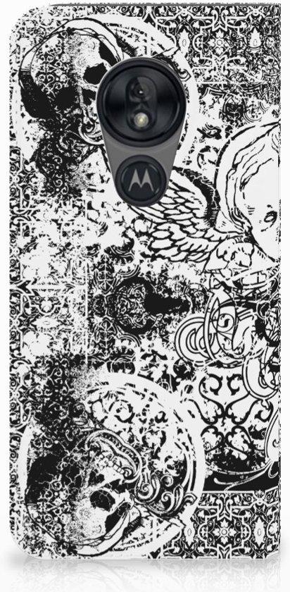 Standcase Hoesje Motorola Moto G7 Power Design Skulls Angel