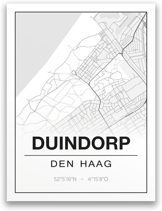 Poster/plattegrond DUINDORP - 30x40cm