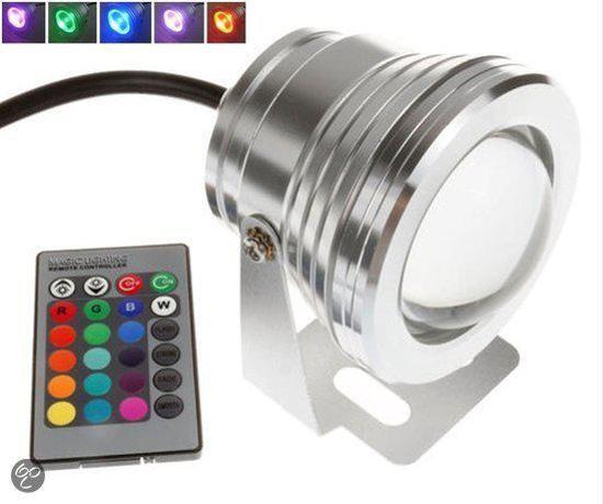 10 watt LED spot light RGB Focus Lens outdoor 12 volt