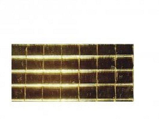 Gouden Mozaiek Tegels : Bol gouden spiegel mozaiek zelfklevend