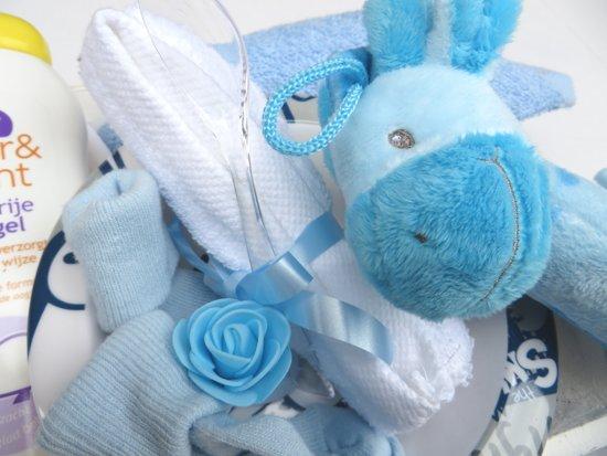 Bol kraamcadeau geboorte baby jongen zoon delig