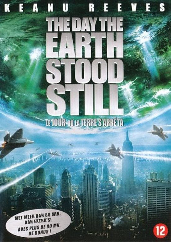 DVD cover van The Day The Earth Stood Still