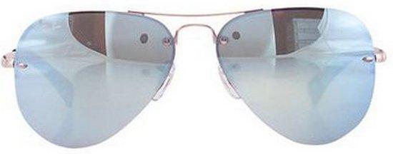 318e3b0ed03481 Ray-Ban RB3449 003 30 - Aviator - zonnebril - Zilver   Zilver Spiegel