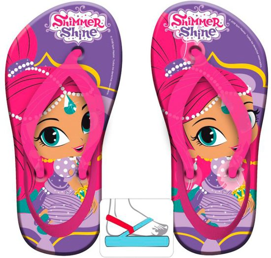 213b9d84ce8d Shimmer and Shine slippers maat 26 27