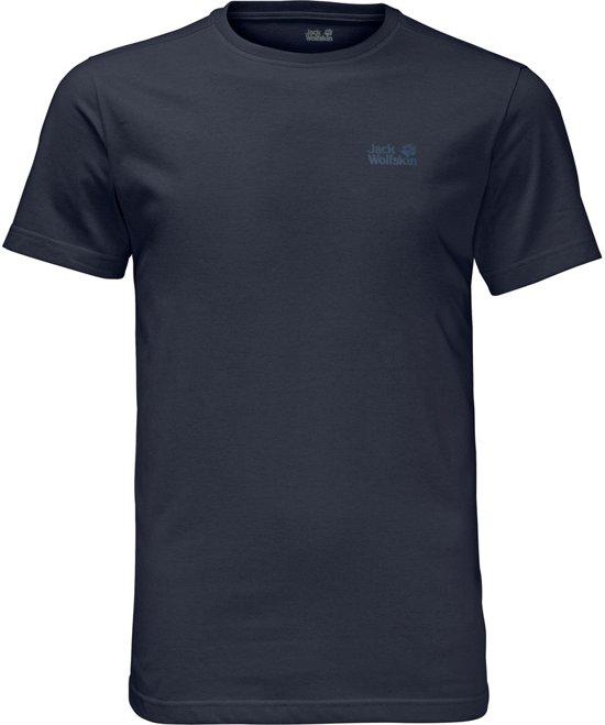 Shirt Wolfskin Essential HerenNight Jack Blue Men T rBWdeCxo