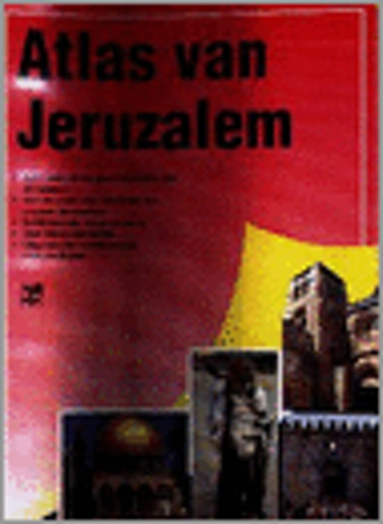 Atlas van Jeruzalem - Robert Backhouse |