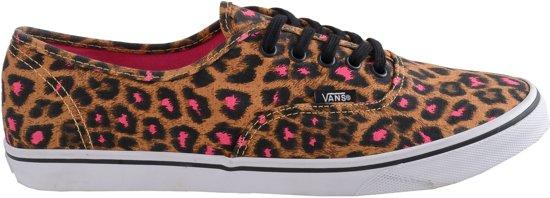 Vans Authentic Lo Pro (Leopard) Sportschoenen - Maat 36.5 - Vrouwen - bruin  44bf86e70