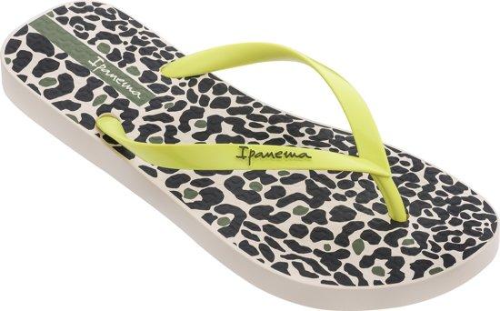 Ipanema Animal Print Dames Slippers - Beige/Yellow