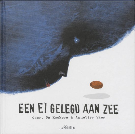 Cover van het boek 'Een ei gelegd aan zee' van G. de Kockere