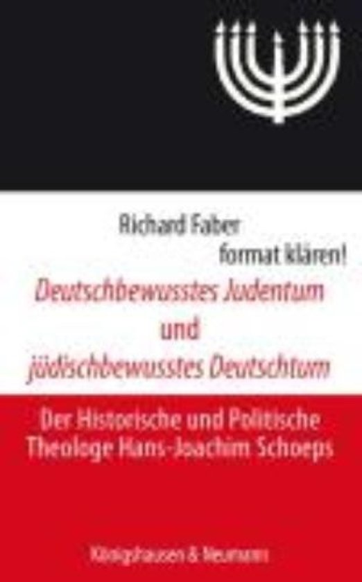 Afbeelding van Deutschbewusstes Judentum und jüdischbewusstes Deutschtum