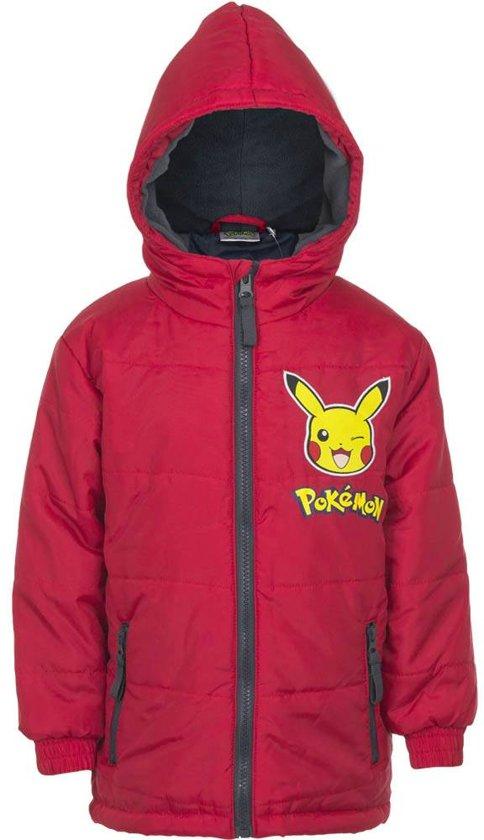 Kinder Winterjas.Bol Com Pokemon Kinder Winterjas Pikachu Rood Maat 114cm 6