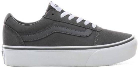 Vans Ward Platform Sneakers Zwart