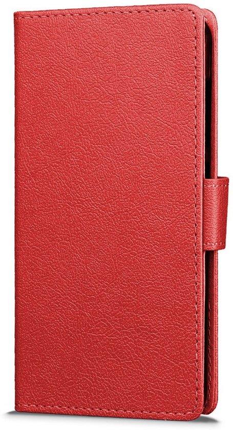 Knaldeals.com - Sony Xperia XZ hoesje - Book Wallet Case - Rood in Roden