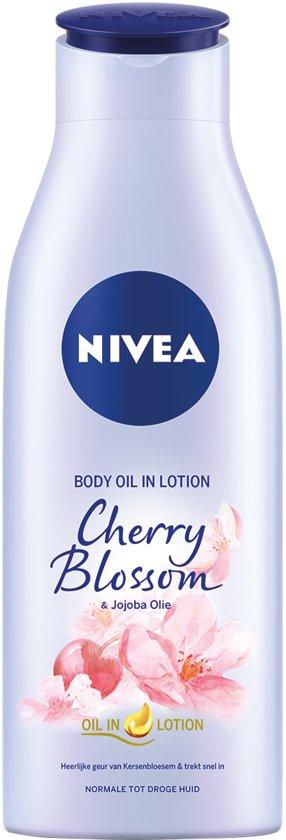 NIVEA Kersenbloesem & Jojoba  Body Olie in Lotion - 200 ml
