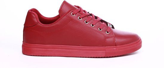 Manzotti Mens Baskets Rouges aGKIUZet