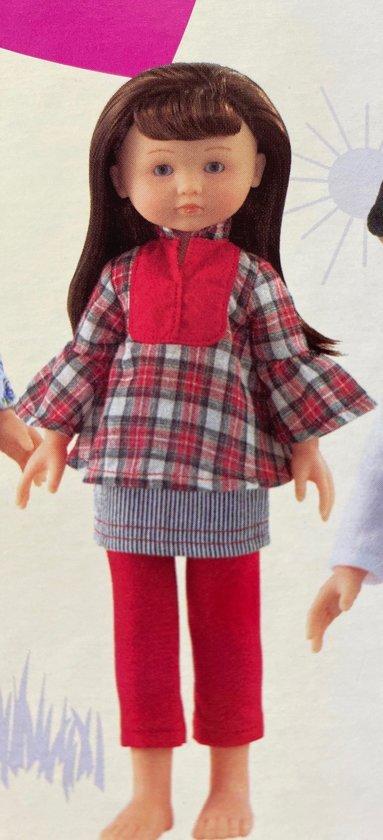 Corolle - Poppenkleding - Schoolmeisje