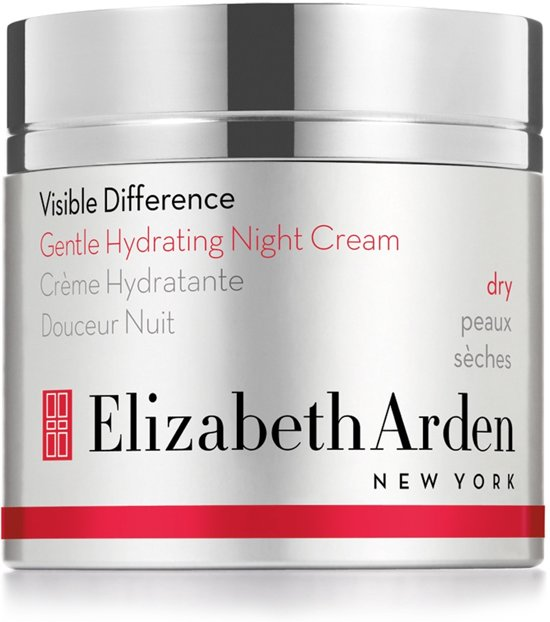 Elizabeth Arden 50ml Visible Difference Gentle Hydrating Night Cream - Dry
