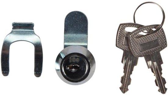 Brievenbus slot - Ø15mm / 18mm - twee sleutels