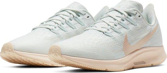 Nike Air Zoom Pegasus 36 Sportschoenen Dames Ghost AquaLt Cream Sail Moon Particle