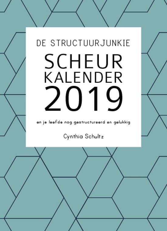 De structuurjunkie scheurkalender 2019