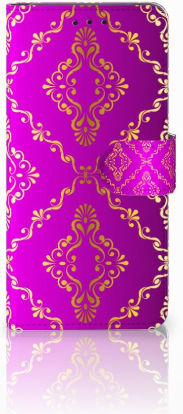 Huawei Mate 20 Pro Uniek Boekhoesje Barok Roze