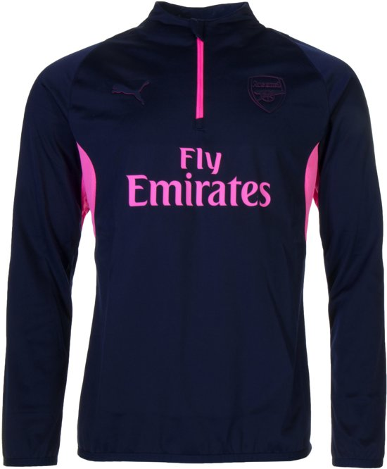 Puma 2018 knockout 2019 HerenPeacoat Trainingstrui Pink Arsenal Okn0wX8P