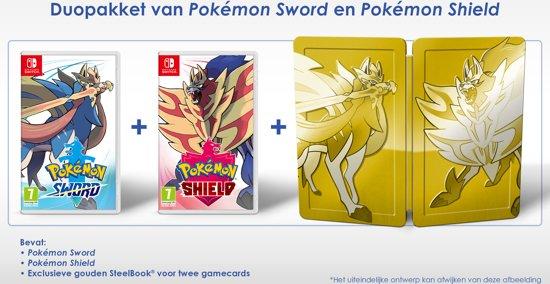 Cover van de game Pokémon Sword + Shield (Limited Edition) Nintendo Switch