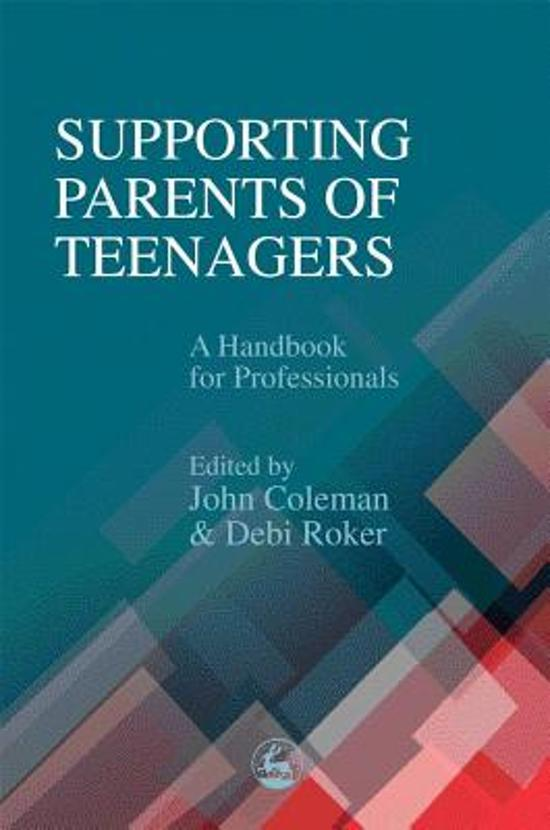 Supporting Parents of Teenagers