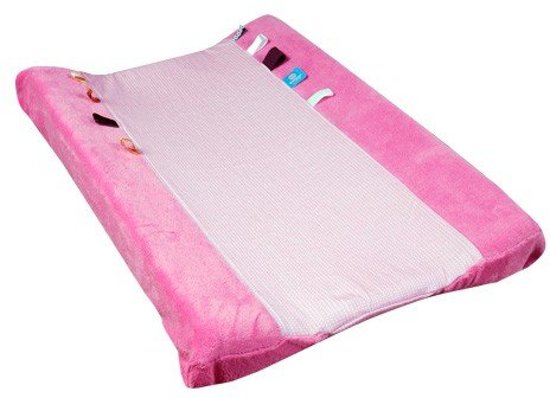 Snoozebaby Happy Dressing -  Aankleedkussenhoes - Elephant Pink