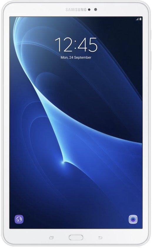 Samsung Galaxy Tab A (2016) Tablet - Wit - WiFi-  Met 3800mAh Samson Powerbank
