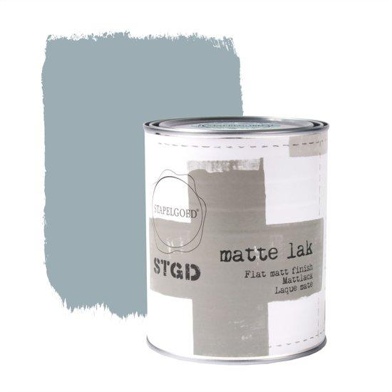 Stapelgoed - Matte Lak - Blue shade - Blauw - 1L