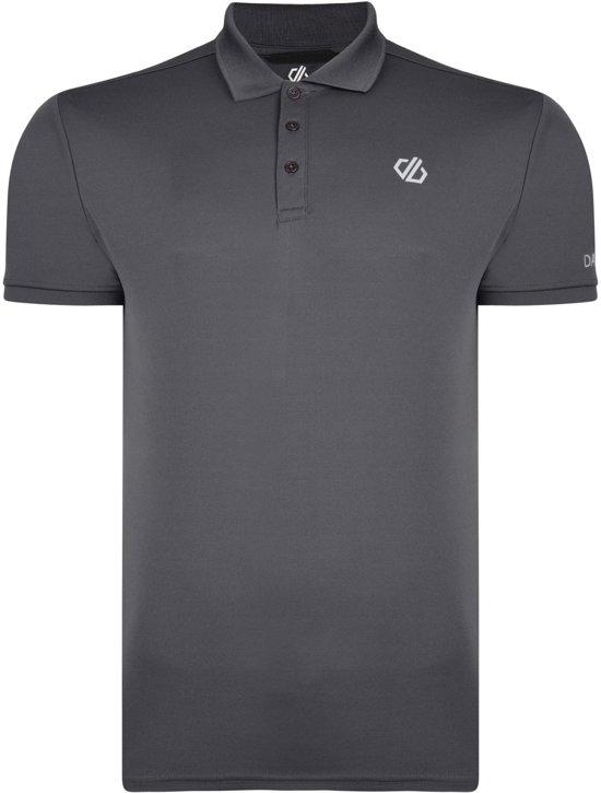 Dare2B - Delineate Polo - Outdoorshirt - Heren - Maat XL - Blauw